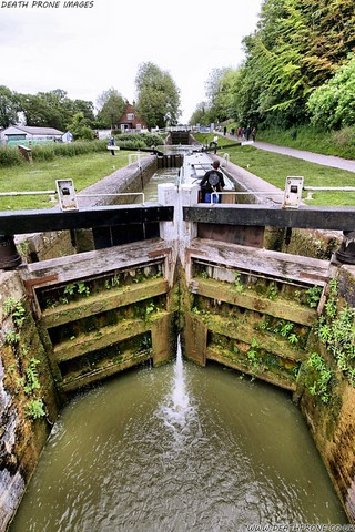 Caen Hill Lock Flight​ On The Kennet And Avon Canal
