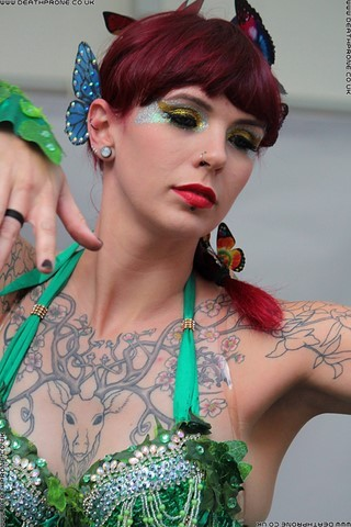 Dancer Harley Fox at the Hastings Pride Launch Party, photo by Dean Thorpe of Death Prone Images