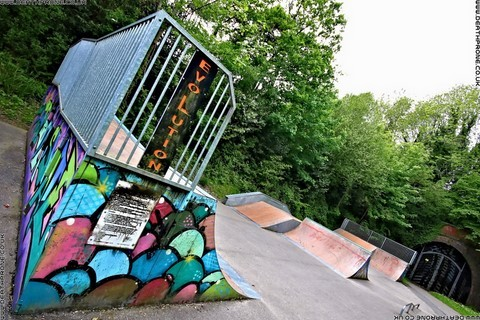 Photo 1 of Heathfield skate park in East Sussex, a great place for skateboards, roller blades, quad skates and BMX's.