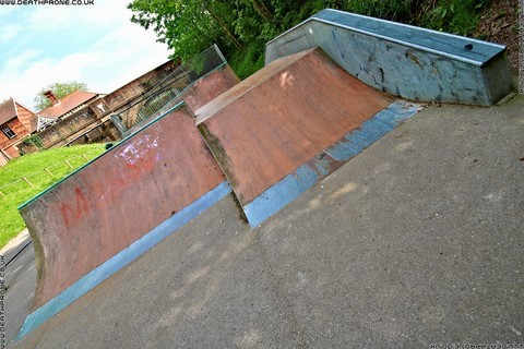 Photo 5 of Heathfield skate park in East Sussex, a great place for skateboards, roller blades, quad skates and BMX's.
