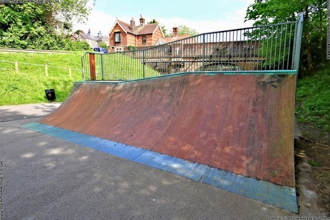 Photo 7 of Heathfield skate park in East Sussex, a great place for skateboards, roller blades, quad skates and BMX's.