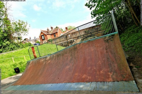Photo 8 of Heathfield skate park in East Sussex, a great place for skateboards, roller blades, quad skates and BMX's.