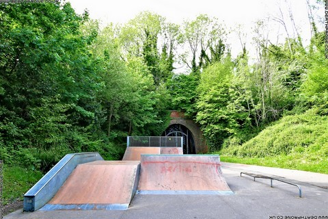 Photo 9 of Heathfield skate park in East Sussex, a great place for skateboards, roller blades, quad skates and BMX's.