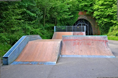 Photo 10 of Heathfield skate park in East Sussex, a great place for skateboards, roller blades, quad skates and BMX's.