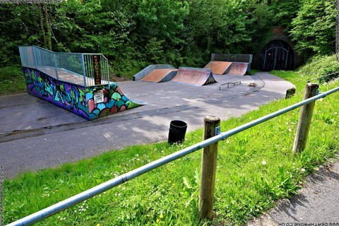 Photo 14 of Heathfield skate park in East Sussex, a great place for skateboards, roller blades, quad skates and BMX's.