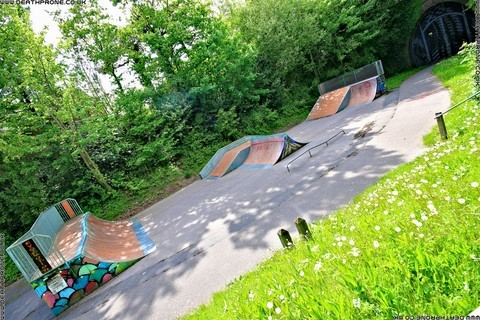 Photo 15 of Heathfield skate park in East Sussex, a great place for skateboards, roller blades, quad skates and BMX's.