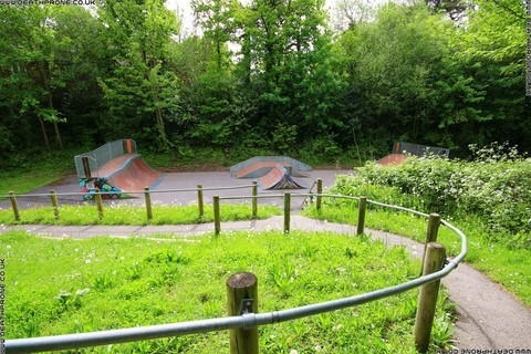 Photo 18 of Heathfield skate park in East Sussex, a great place for skateboards, roller blades, quad skates and BMX's.