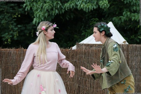 Photo 24 that I took at a performance of A Midsummer Nights Dream, written by William Shakespeare and performed by Chapterhouse Theatre Company at the English Heritage property Battle Abbey on the 9th of June 2018.