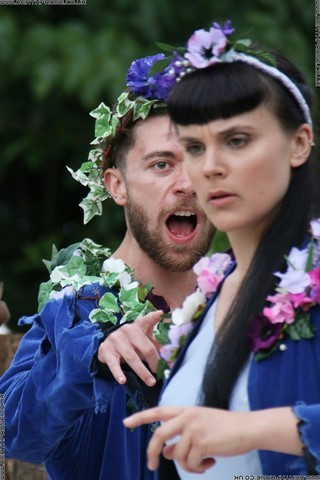 Photo 28 that I took at a performance of A Midsummer Nights Dream, written by William Shakespeare and performed by Chapterhouse Theatre Company at the English Heritage property Battle Abbey on the 9th of June 2018.