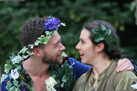 Photo 30 that I took at a performance of A Midsummer Nights Dream, written by William Shakespeare and performed by Chapterhouse Theatre Company at the English Heritage property Battle Abbey on the 9th of June 2018.