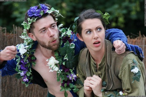 Photo 31 that I took at a performance of A Midsummer Nights Dream, written by William Shakespeare and performed by Chapterhouse Theatre Company at the English Heritage property Battle Abbey on the 9th of June 2018.