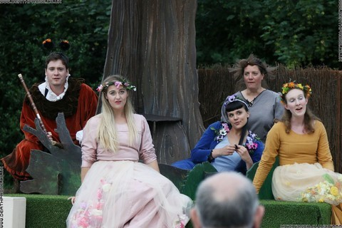 Photo 32 that I took at a performance of A Midsummer Nights Dream, written by William Shakespeare and performed by Chapterhouse Theatre Company at the English Heritage property Battle Abbey on the 9th of June 2018.