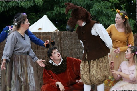 Photo 41 that I took at a performance of A Midsummer Nights Dream, written by William Shakespeare and performed by Chapterhouse Theatre Company at the English Heritage property Battle Abbey on the 9th of June 2018.