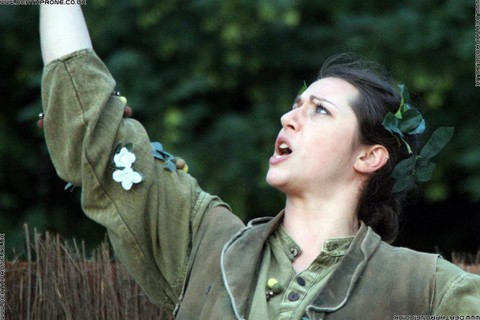 Photo 50 that I took at a performance of A Midsummer Nights Dream, written by William Shakespeare and performed by Chapterhouse Theatre Company at the English Heritage property Battle Abbey on the 9th of June 2018.