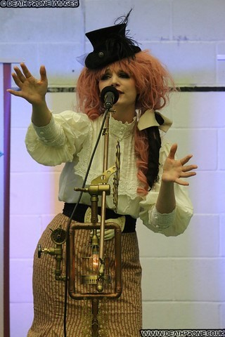 Alice's Night Circus​ performing at the Hastings Steampunk Extravaganza event in 2018