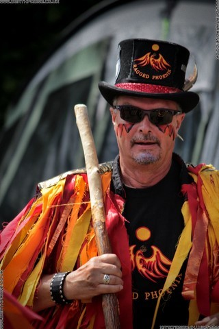A photograph of Stix Drummers Summer Madness held in 2016 at Sharnfold Farm, picture by Death Prone Images / Dean Thorpe