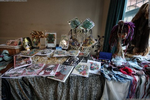 Christmas cards, pictures and many other interesting things for sale