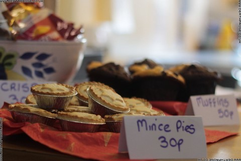 Yummy mince pies for sale for only 30p, yes please