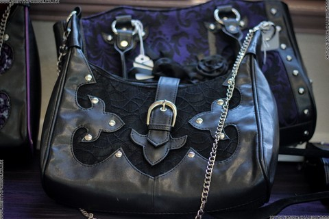 Beautiful gothic hand bags for sale by Ruby at Elvin Dream