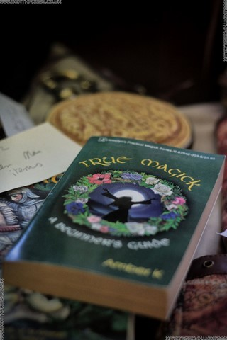 A book on True Magick, I wonder if it works