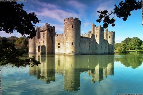 Bodiam Castle, such a beautiful place