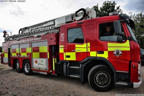 Volvo FM Angloco fire engine GX13 ECD East Sussex FRS