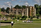A photograph of Hever Castle and the beautiful gardens there in the English village of Hever, near Edenbridge in Kent, a very worthy place to visit, picture by Death Prone Images