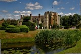 A photograph of the historic Hever Castle and its beautiful grounds at Hever, near Edenbridge in the English county of Kent, a very worthy place to visit, photo by Dean Thorpe