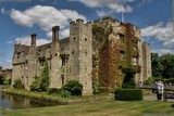 A picture of history filled Hever Castle and the amazing grounds in the English village of Hever, near Edenbridge in Kent, one of my favourite places to visit, photograph by Dean Thorpe