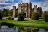 An image of the castle and surrounding area at Hever, near Edenbridge in Kent, England, such an amazing place to explore, photo by Dean Thorpe of Death Prone Images