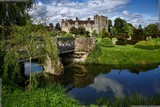 A picture of the historic Hever Castle and its beautiful grounds at Hever in Kent, England, so much history in one place, picture by Death Prone Images